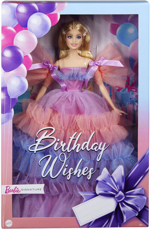 Barbie Signature Birthday Wishes Doll
