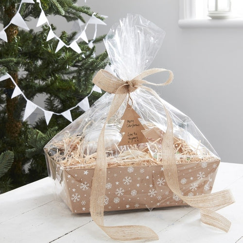 Ginger Ray Kraft Christmas Present Hamper Present Making Kit