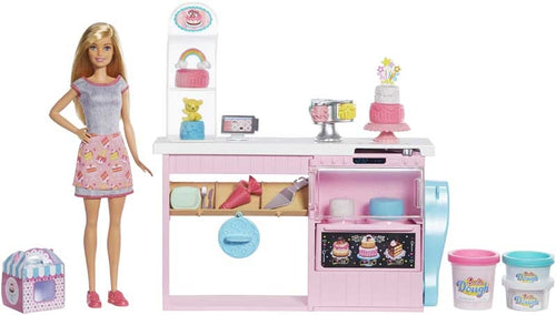 Barbie Cake Bakery Playset with Baker
