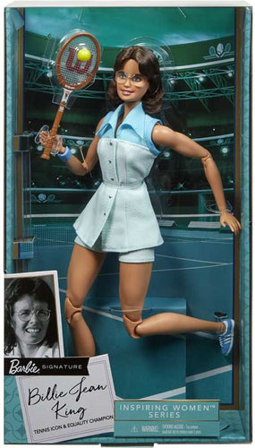 Barbie Billie Jean King Barbie Inspiring Women Doll