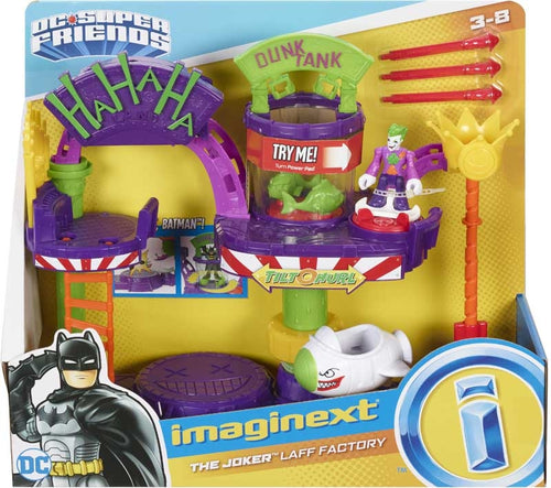 IMAGINEXT DC SUPER HERO FRIENDS JOKER LAUGH FACTORY