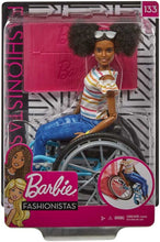 Load image into Gallery viewer, Barbie Doll and Wheelchair Brunette