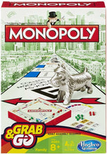 Load image into Gallery viewer, Hasbro Monopoly Grab & Go Game