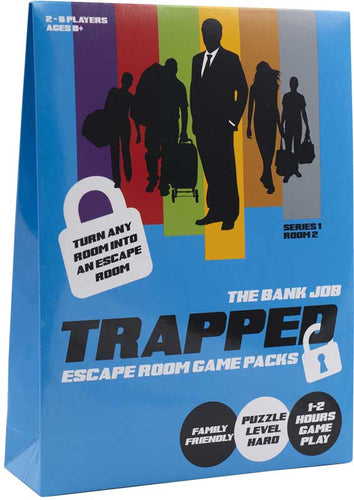 Trapped Escape Room Game Bank Job