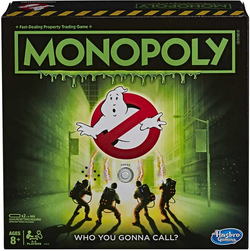 Hasbro Monopoly Ghostbusters Edition Board Game