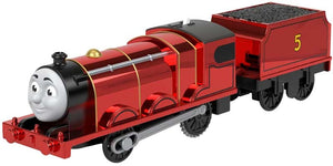 Thomas & Friends Trackmaster Motorised Metallic Celebration James