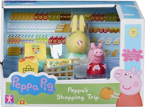 Peppa Pig's Messy Kitchen -Shopping Trip Set
