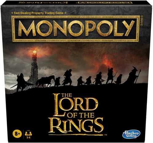 Hasbro Lord of the Rings Monopoly Game