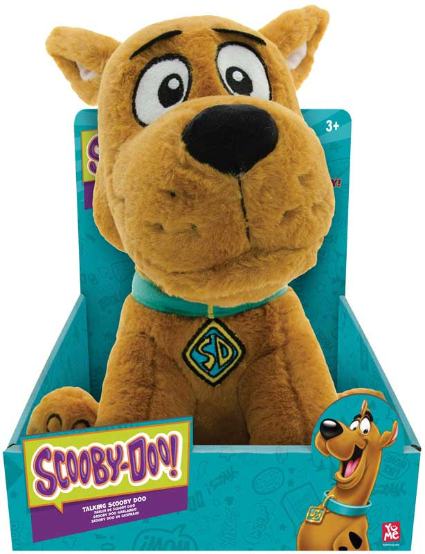 SCOOBY DOO MOVIE 11INCH SCOOBY DOO SINGING & TALKING PLUSH