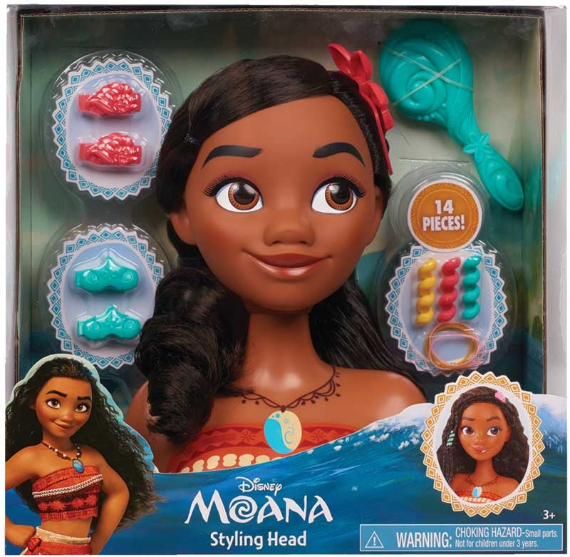 Disney Princess Moana Styling Head
