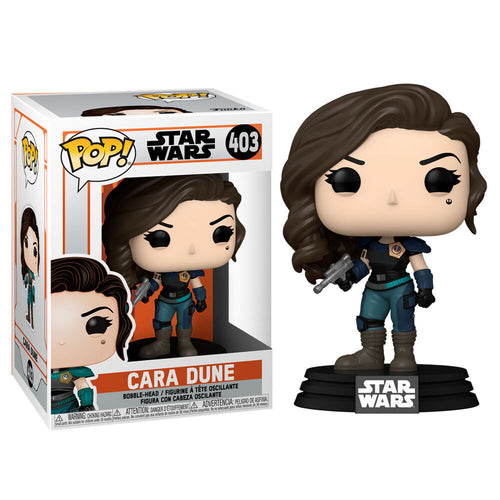 Funko POP figure Star Wars The Mandalorian Cara Dune