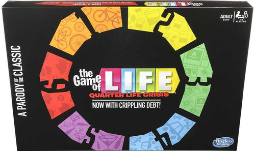 Hasbro Game of Life Quarter Life Crisis Game