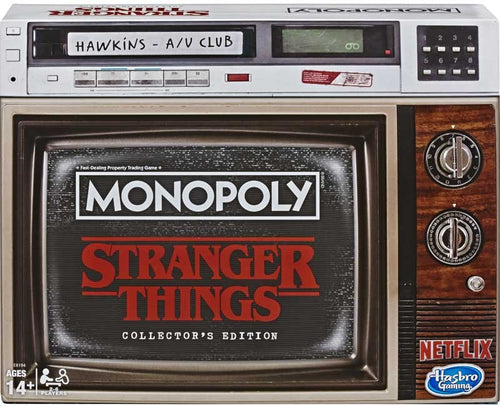 Hasbro Stranger Things Collectors Edition Monopoly Game