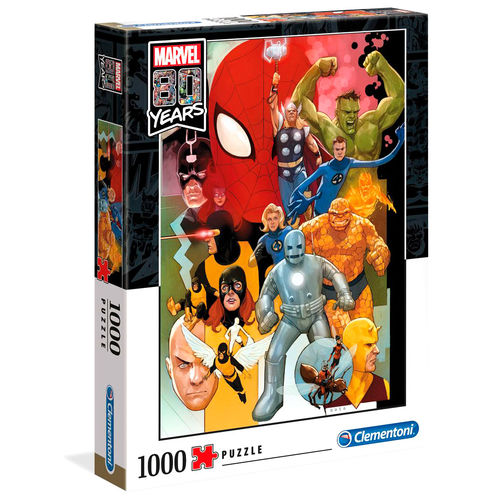 Marvel 80 Years puzzle 1000pcs