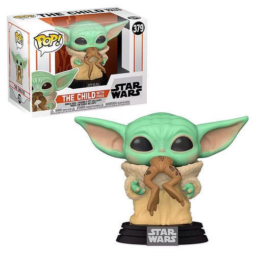 Funko POP figure Star Wars Mandalorian Yoda The Child with Frog