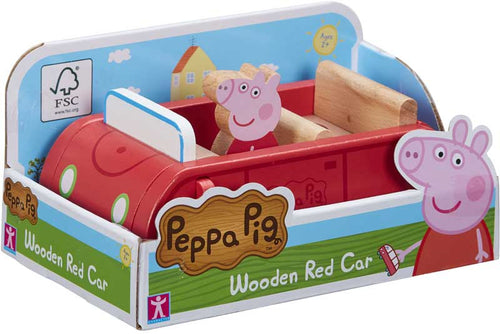Peppa Pig Peppa's Wooden Red Car