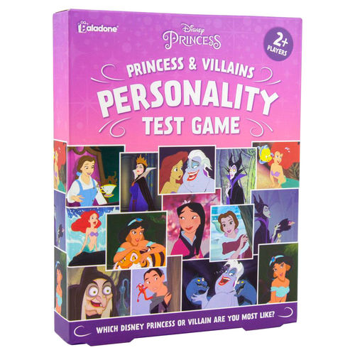 Disney Princess and Villains Personality test game