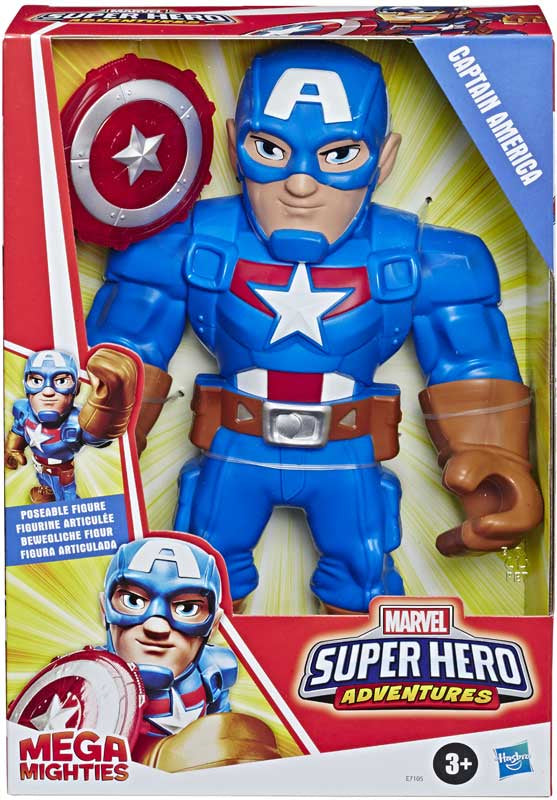 Super Heroes Adventure Captain America