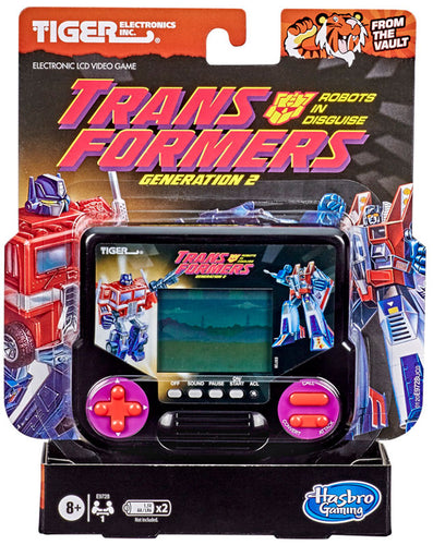 Tiger Electronics Transformers Robots in Disguise Generation 2 Electronic LCD Video Game