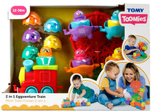 Load image into Gallery viewer, Tomy 2-in-1 Eggventure Train