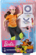 Load image into Gallery viewer, BARBIE SKATEBOARDER DOLL