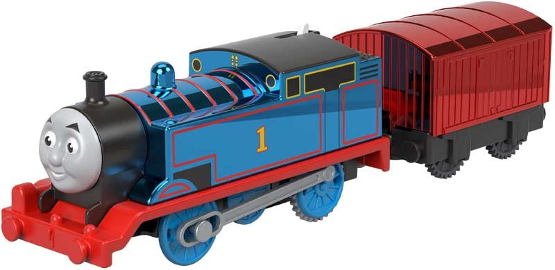 Thomas & Friends Trackmaster Motorised Metallic Celebration Thomas