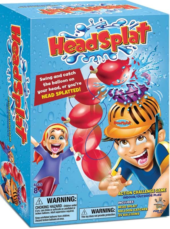 Head-Splat Game