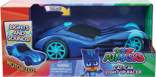 Load image into Gallery viewer, PJ Masks Light Up Racer Vehicle - Catboy's Cat Car