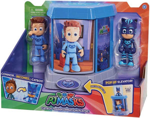 PJ MASKS TRANSFORMING FIGURES PLAYSET - CATBOY