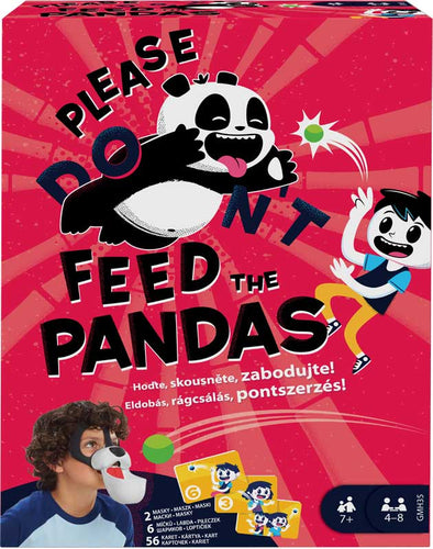 PLEASE FEED THE PANDAS GAME