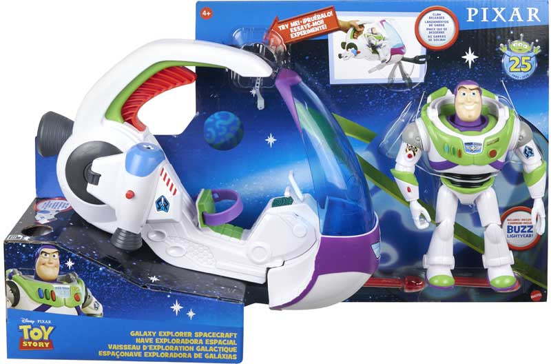 Disney Toy Story Galaxy Explorer Spacecraft