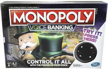 Load image into Gallery viewer, Hasbro Monopoly Voice Banking Game