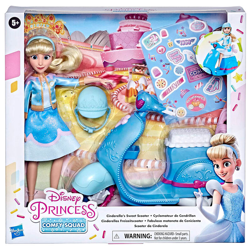 Disney Princess Comfy Squad Cinderella's Sweet Scooter