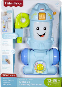 Fisher Price Laugh and Learn Light Up Vacuum