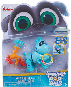 Disney Junior Puppy Dog Pals Light-Up Pals Secret Agent A.R.F