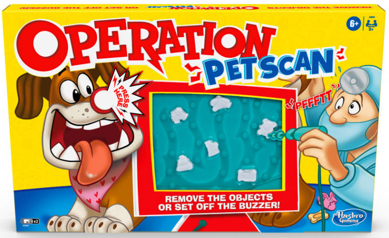 Hasbro Operation Pet Scan Game