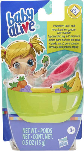 Baby Alive Powdered Doll Food