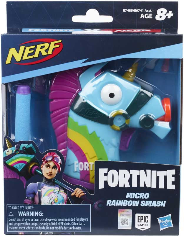 Nerf Fortnite Micro Rainbow Smash