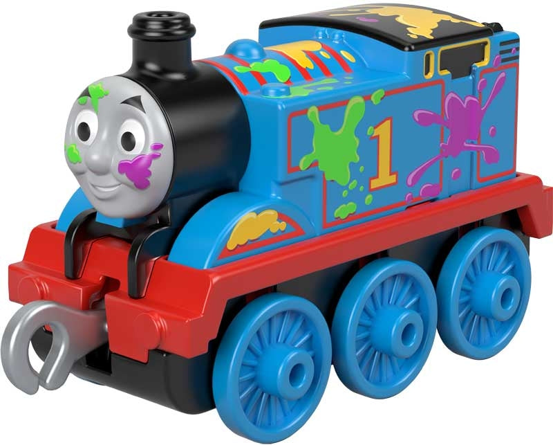 Thomas & Friends Push Along Small Engine Paint Splat Thomas