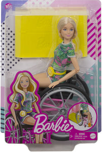 Barbie Wheelchair Caucasian Barbie Doll