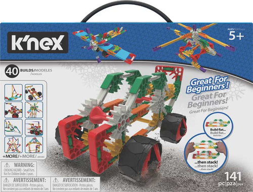 K'nex Beginner 40 Model Building Set