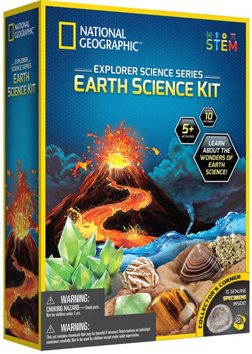 National Geographic Explorer Science Series Earth Science Kit