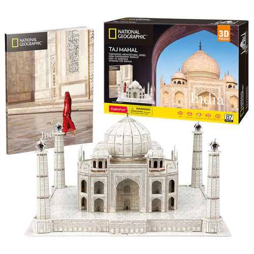 National Geographic Taj Mahal 3D puzzle