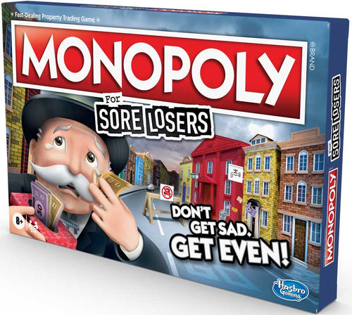 Hasbro Monopoly for Sore Losers