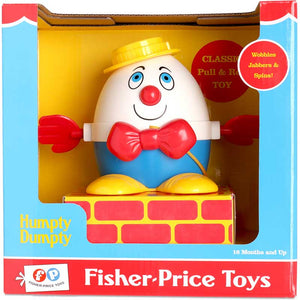Fisher Price Classic Humpty Dumpty Pull N Walk