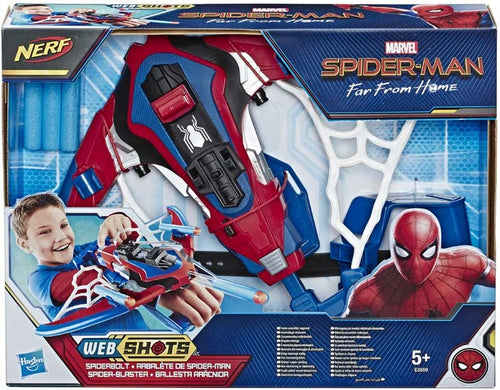 Nerf Marvel Spiderman Spiderbolt Blaster