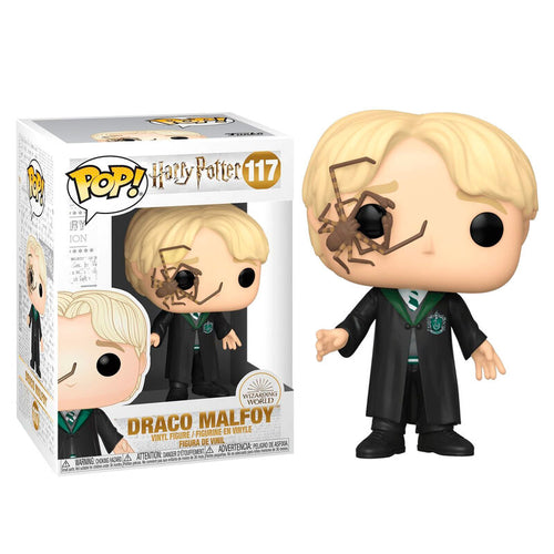 Funko POP figure Harry Potter  Draco Malfoy with Whip Spider