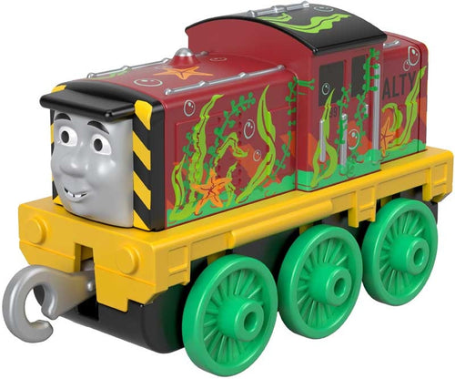 Thomas & Friends Small Push Along Engine Salty Seaweed