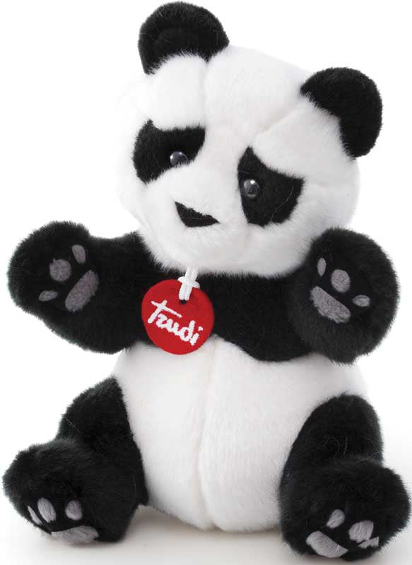Trudi Kevin the Panda Soft Toy Small