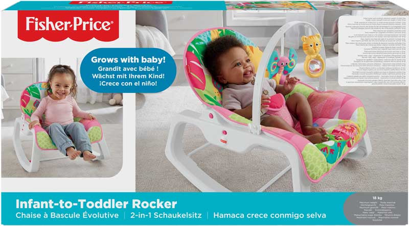 Fisher Price Infant-to-Toddler Rocker - Pink